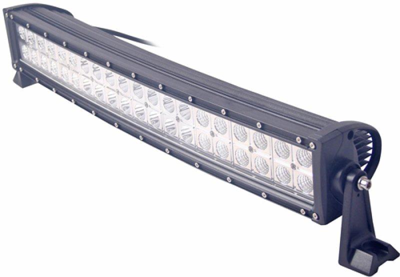 Extraljusramp Kurvad LED